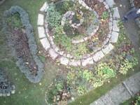 Garten aus ca. 4m Höhe