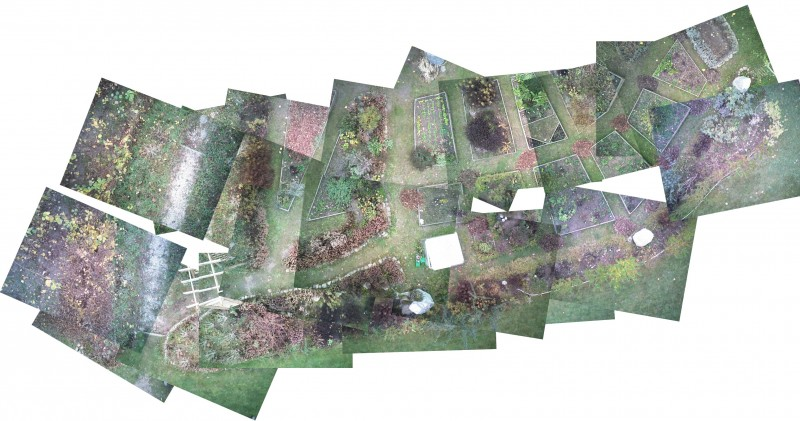 Luftbild Collage